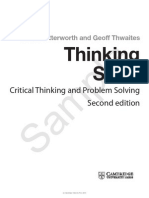 Thinking Skills Critical Thinking and Problem Solving Second Edition