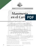 Revista La Tadeo (No. 66, Segundo Semestre 2001, Masonaría en El Caribe)