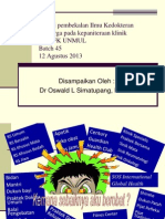 Materi Pembekalan DK ( Revised Version )