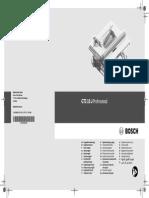 Gts 10 j Professional Manual 8919