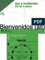 """Presentación """"Advocacy e Incidencia"""