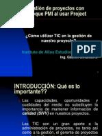 Proyectos a través de Project 2010