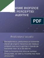 7-Mecanisme Biofizice Ale Perceptiei Auditive