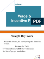 6. Wages and Incentives Plan