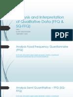 Analisis Data Ffq Sq-ffq
