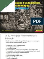 Os 12 Principios de Animação