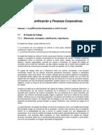 Lectura 7 - Planificación Financiera a Corto Plazo