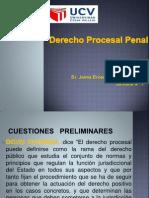 Derecho Procesal Penal - Semana 1