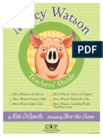 Mercy Watson Common Core Teachers' Guide
