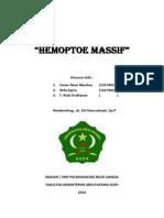 hemoptoe masif