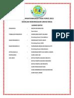 Ahli Jawatankuasa Task Force 2015