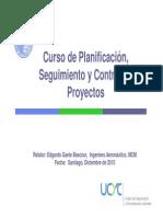Curso de Planificación, Seguimiento y Control de Proyectos