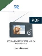 User Manual - DVBT-C30B