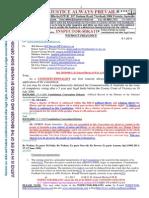 20150108--G. H. Schorel-Hlavka O.W.B. to Mr TONY ABBOTT PM-Re Election Issues