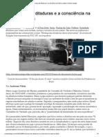 A Herança Das Ditaduras e a Consciência Na América Latina _ Revista Vaidapé