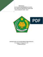 Proposal Latihan Dasar Kepemimpinan (Ldk) Pengurus Osis