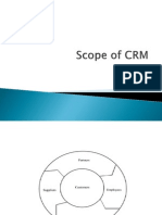 Scope of CRM