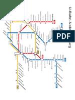 Hamburg U Bahn Netz