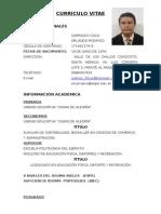 Curriculo Orlando Carrasco