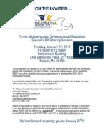 MDDC Bill Sharing Invitation 2015