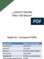 Product Failure