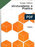 Todorov Poética Estrutural