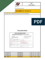 PUMP DATA SHEET - 0410-PPC-0069 - 0070