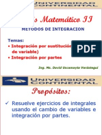 INTEGRACION POR CAMBIO DE VARIABLE.pdf