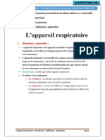 Introduction App Respiratoire
