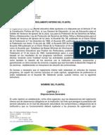 Reglamento Interno Del Plantel Secs Grales