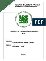 Informe Seminario-Desarrollo Urbanistico Del Cerro San Cristobal