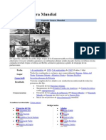 Datos Segunda Guerra Mundial