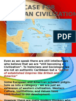 A Case for Caribbean Civilization