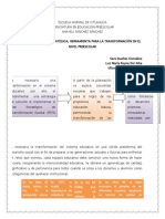 La planeación estratégica, herramienta para la transformación en el nivel preescolar