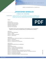 Reglamento Ley Cantabria Prevencion Cont. Lum.