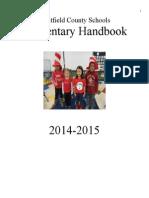 Elementary Handbook 2014-15