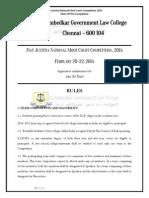 Fiat Justitia 2015 - Rules