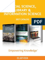 2017 Social Science, Library and Information Science Catalog