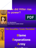 world war ii presentaion 1 -  hitlers rise to power without game