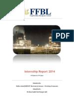 FFBL Internship Report