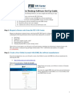 FIUGISCenter Guide for Student Software Installation 20140204