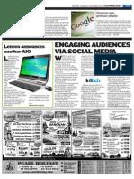 Engaging audiences via social media