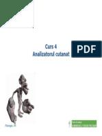 Curs 4 - Analizatorul Cutanat