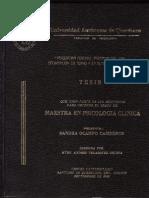 Psiquiatrrìa Forense y Psicoanalisis