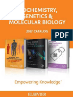 2017 Biochemistry, Genetics and Molecular Biology Catalog