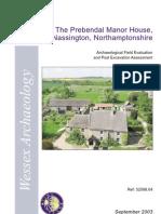 Prebendal Manor, Nassington