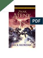 Riordan Rick - Olimpijscy Herosi Tom 3- Znak Ateny