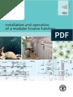 Installation and Operation of a Modular Bivalve Hatchery