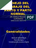 9.-Manejo Del Trabajo Del Parto y Parto Normal