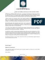 06-01-2015 Continuará Estado apoyando a las familias sonorenses en todo momento
